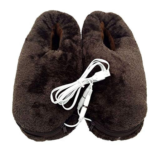 Supvox Usb Heating Slippers Electric Microwavable Slippers