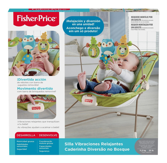 Fisher-price, Silla Vibraciones Relajantes