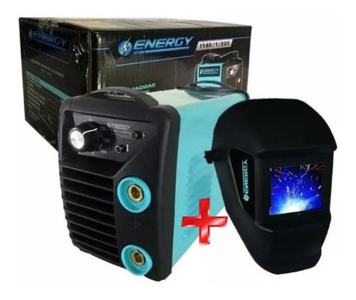 Soldadora Inverter 200amp Energy + Electrodos + Careta - Tyt