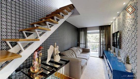 Apartamento Duplex Com 2 Dormitórios À Venda, 134 M² Por R$ 1.550.000 - Vila Madalena - São Paulo/sp - Ad0433