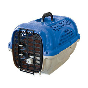 Caixa De Transporte Panther N.01 Azul+pote