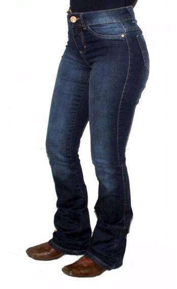 Calça Feminina King Farm Jeans Escuro