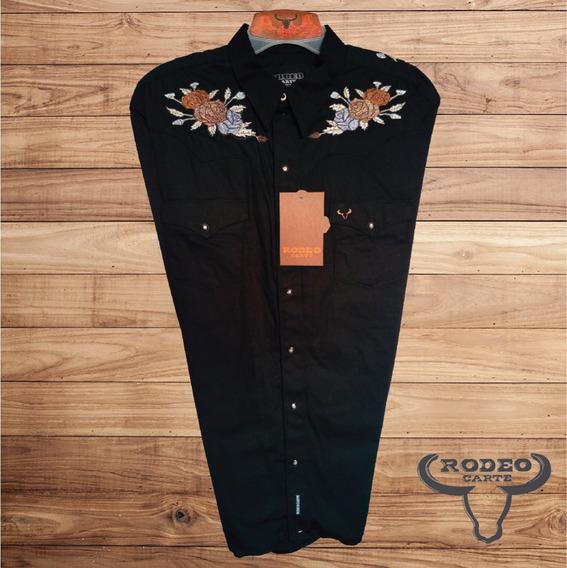 8728b76d14d7 Camisa Vaquera Bordada Para Mujer - Ropa, Bolsas y Calzado en ...