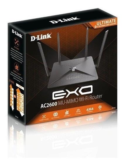 Roteador D-link Dir-882 Wireless Mu-mimo Gigabit Ac2600