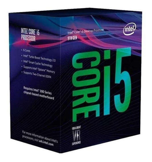 Micro Procesador Intel Core I5 9400 4.1ghz 1151