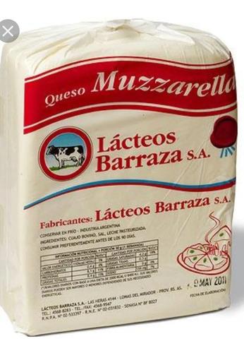 Muzzarella Barraza Plancha De 10 Kilos