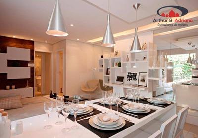 Apartamento Com 3 Dormitórios À Venda, 63 M² Por R$ 315.000 - Jardim Botânico - São Paulo/sp - Ap0038