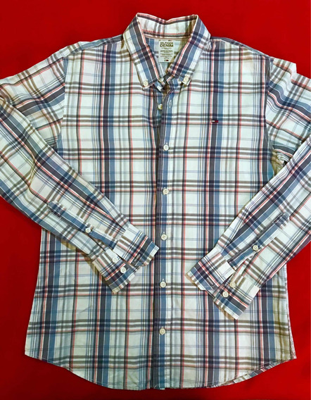 Camisa Tommy Hilfiger Original Talla M/no Lacoste Polo
