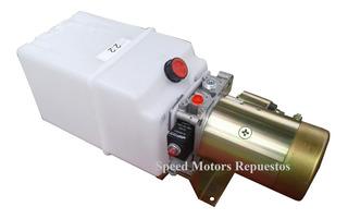 Central Hidraulica 12v 24v 220v 360v Efecto Simple Speed Mot