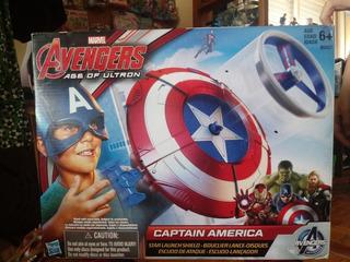 Escudo Lanzador Capitán América
