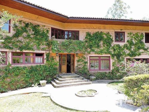 Casa Com 3 Dormitórios À Venda, 402 M² Por R$ 1.680.000,00 - Vila Real Moinho Velho - Embu Das Artes/sp - Ca0192