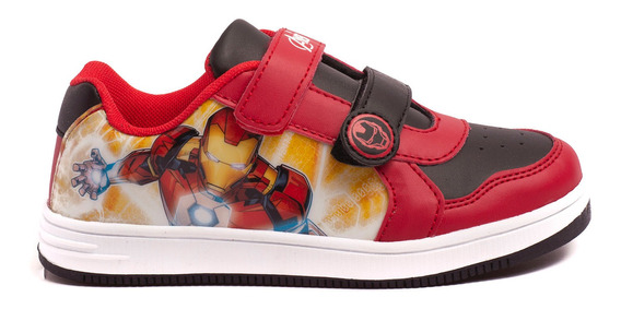 Zapatillas Atomik Marvel Infinity Ironman-mvl007roj- Open Sp