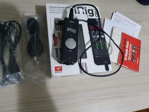 Irig Pro Interface Midi Ik Multimidia iPad, iPhone E Mac