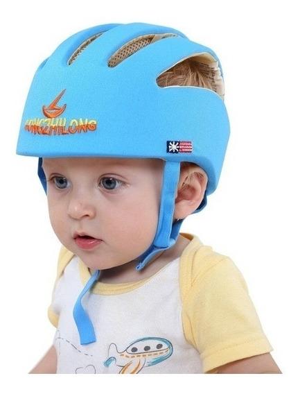 Casco Protector Para Bebe Protección Antigolpes + Envio