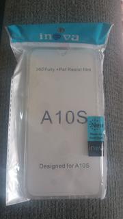 Capa Case 360 Grau Inova P/ Samsung Galaxy A10s Tela 6.2 .
