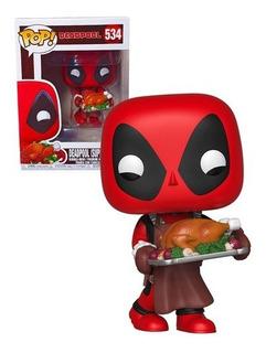 Funko Pop - Thanos - Spiderman - Deadpool - Iron Man - Thor