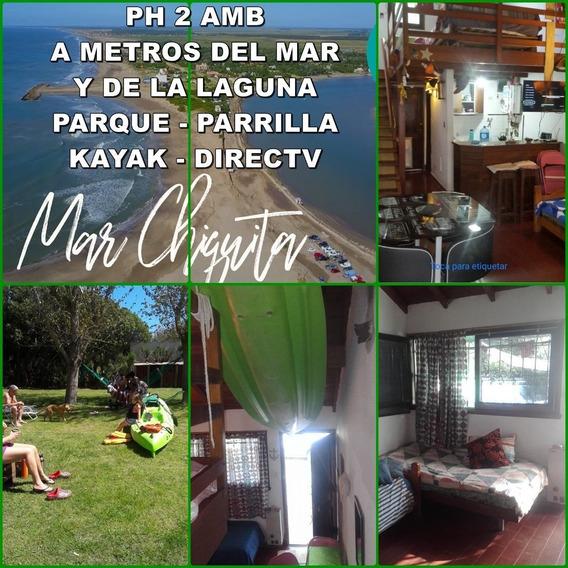 Ph 2 Amb Tipo Bungalow Con Parque Y Parrilla En Mar Chiquita