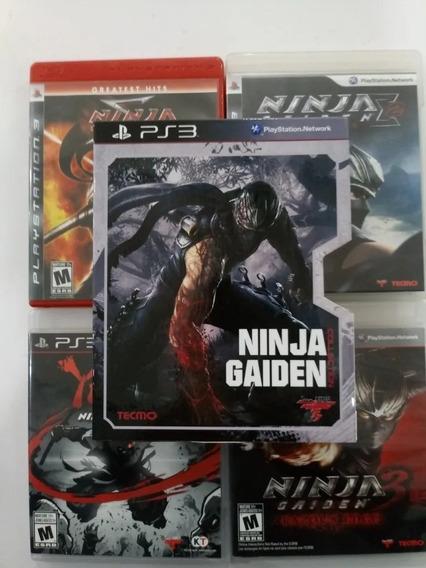 Ninja Gaiden Ps3 - Kit Com 4 Jogos - Midia Fisica