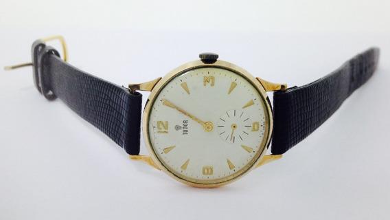 Reloj Original Marca Tudor Oro De 14k P/caballero (ref 251)