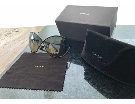 Oculos De Sol Tom Ford Feminino Miranda Tf 130 36 F - Usado
