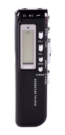 Gravador Mini Voice Activated Digital Audio Voice Recorder