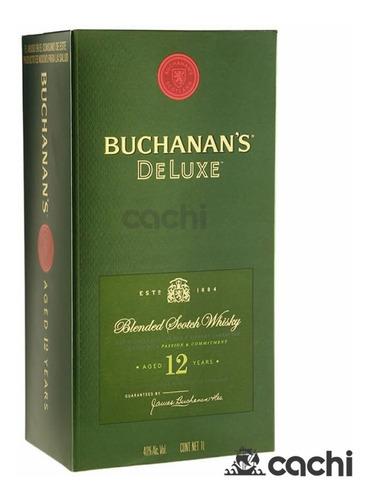 Whisky Buchanan's 12 Años 1 Litro