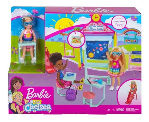 Imagen 1 de 4 de Barbie Chelsea Set De Juego Escuela