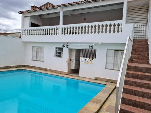 Casa Térrea Com Piscina Com 4 Dormitórios, 350 M² - Venda Por R$ 2.980.000 Ou Aluguel Por R$ 9.000/mês - Brooklin - São Paulo/sp - Ca3813