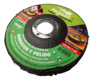 Chaupint Disco Pulir Amoladora 115mm Pegaso C115eg Remocion