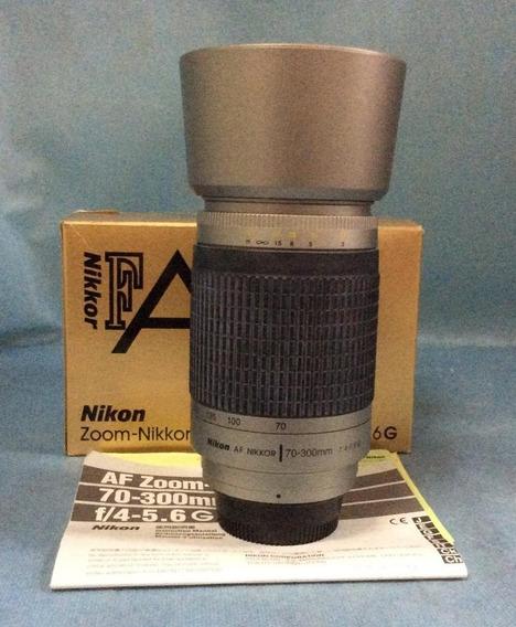 Lente Nikon 70-300 - F:4-5,6 G