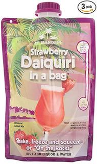 De Lt. Blender Strawberry Daiquiri En Una Bolsa, Bolsas De 1