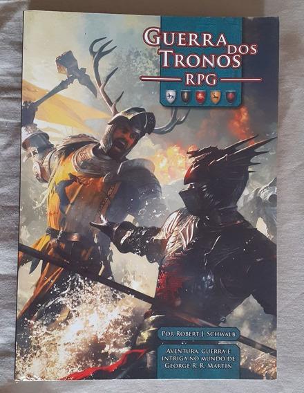 Livro Manual Do Rpg De Mesa De Guerra Dos Tronos