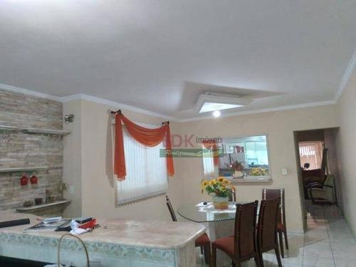Imagem 1 de 5 de Sobrado Com 4 Dormitórios À Venda, 363 M² Por R$ 795.000 - Vila Guaraciaba - Santo André/sp - So2231