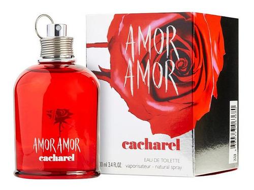 Imagen 1 de 2 de Amor Amor De Cacharel 100 Ml / Myperfume
