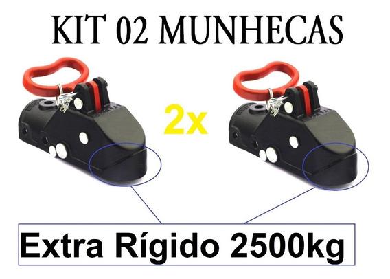 Kit 02 Munheca 2500kg Engate Carretinha Reboque Promoção