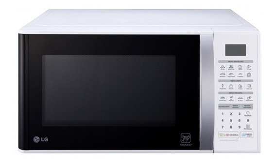 Micro-ondas Lg Easy Clean 30 L Branco 220v - Ms3052ra