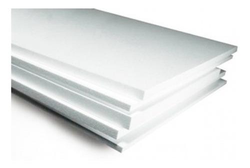 Plancha Telgopor Placa Eps 1m X 1m X 20mm Standar
