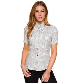 Camisa Feminina Cavalos Escaramuça Guarda 4f6347