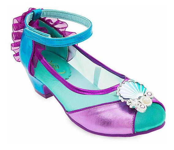 Ariel Zapatos Talla 11-12 La Sirenita Disfraz Disney Store