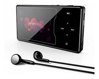 Reproductor De Mp3 16 Gb Con Bluetooth Y Radio Fm