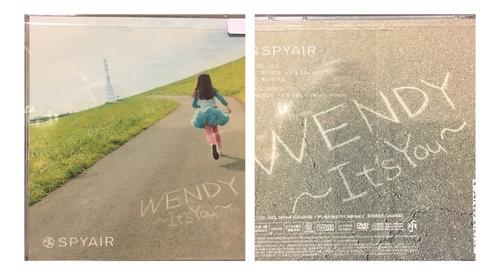 Imagen 1 de 3 de Cd+dvd Wendy - Its You - Spyair Gastovic Anime Store