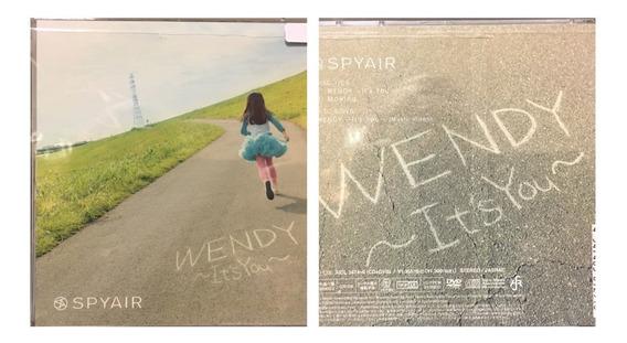 Cd+dvd Wendy - Its You - Spyair Gastovic Anime Store