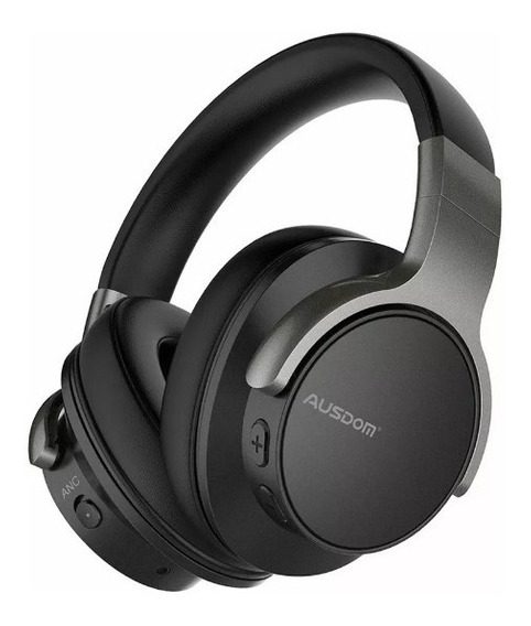 Fone Ausdom Anc8 Profissional Active Noise Cancelling 20hrs