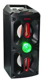 Parlante Portatil Bluetooth Reproductor Mp3 Sanyo Bth25 Luz