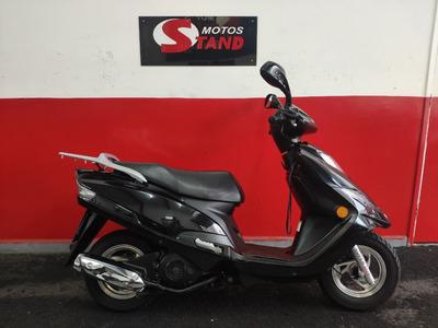 Suzuki Burgman 125 I 125i 2012 Preta Preto