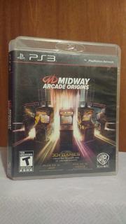 Midway Arcade Origins (con Manual) Ps3 31 Juegos En 1 Od.st