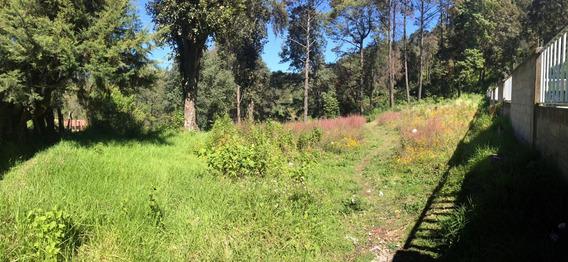 Terreno En Venta En Toluca , A 20 Min De Valle De Bravo