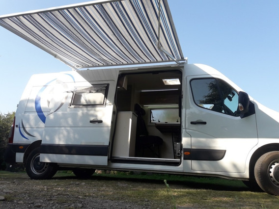 Motorhome Renault Master 2014 170000km Impecable A Estrenar