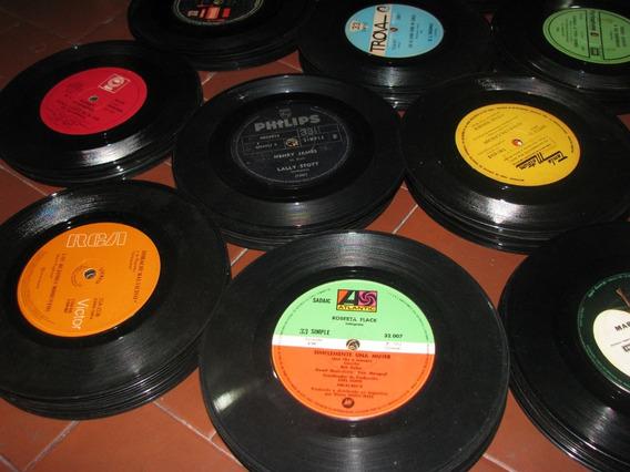 Lote Discos 50 Vinilos Decoracion Arte Reciclado! No Envio!