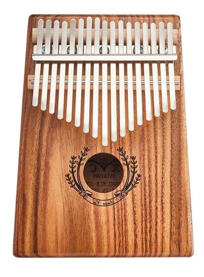 17 Key Kalimba Thumb Piano Lirio Do Vale
